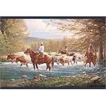 Western Decor Wall Border