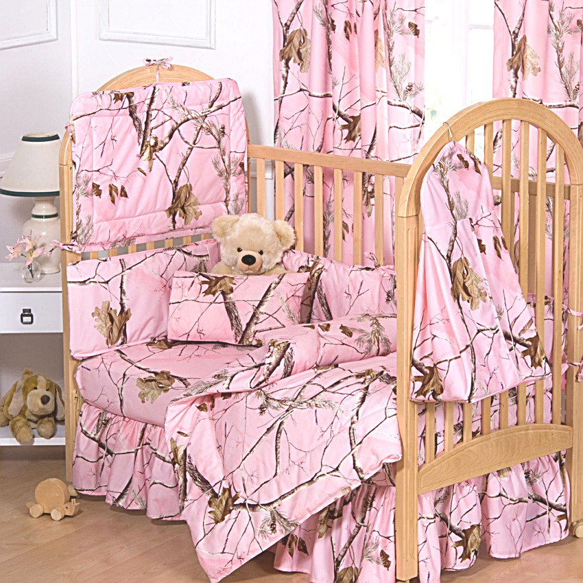 Realtree Max 4 Camo Baby Crib Bedding