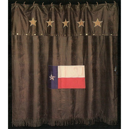 Texas shower curtain