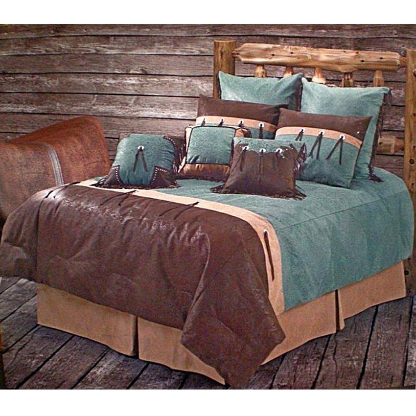 san juan turquoise bedding set