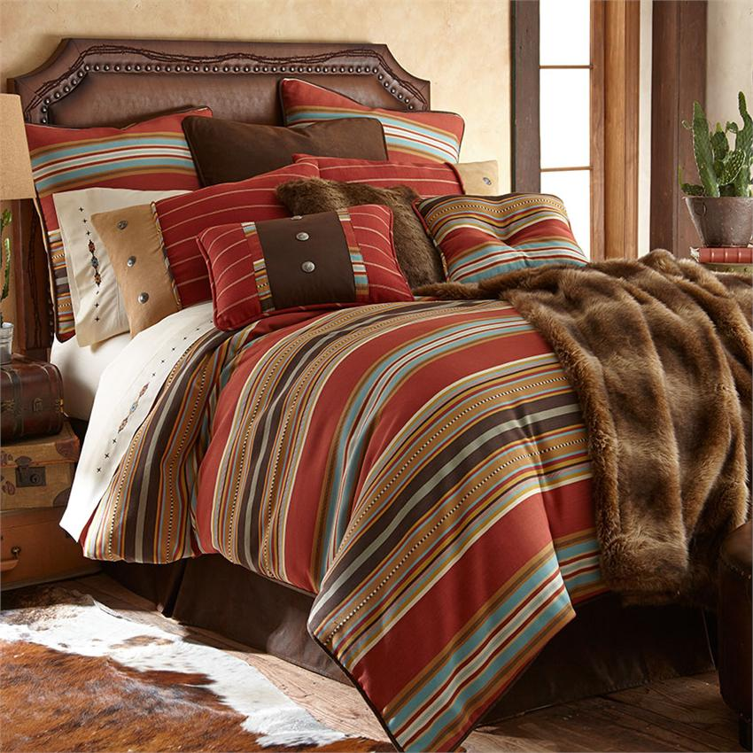 Calhoun Western Bedding Collection Super King