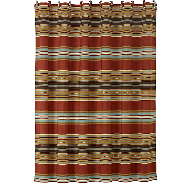 Calhoun Western Shower Curtain Bath Decor