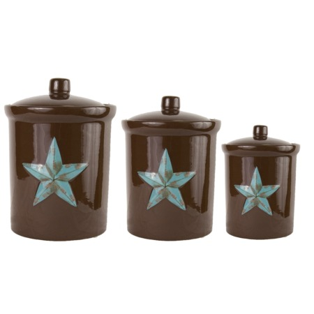 laredo star canister set