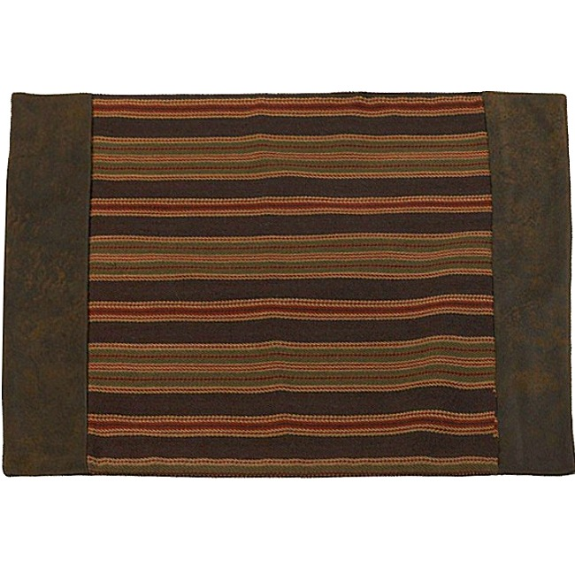 Wilderness Ridge Rustic Lodge Style Placemats 4 Lodge