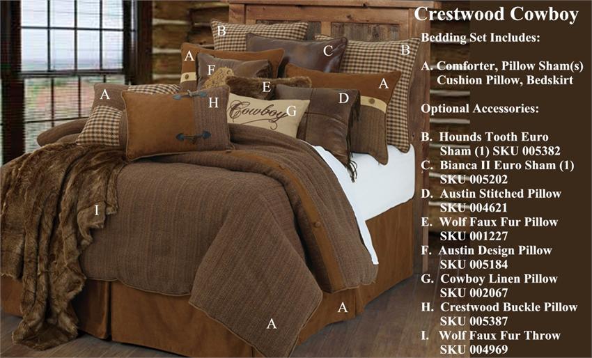 rustic king size comforter sets Crestwood Rustic Cowboy Western Comforter Set rustic king size comforter sets