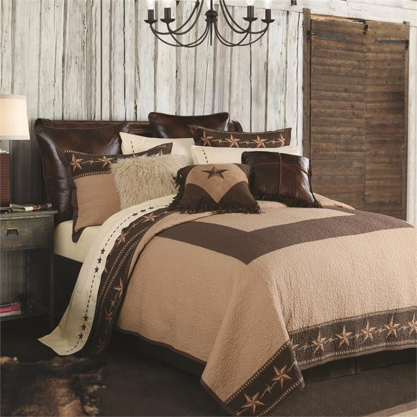 Star Ranch Western Printed Quilt Set