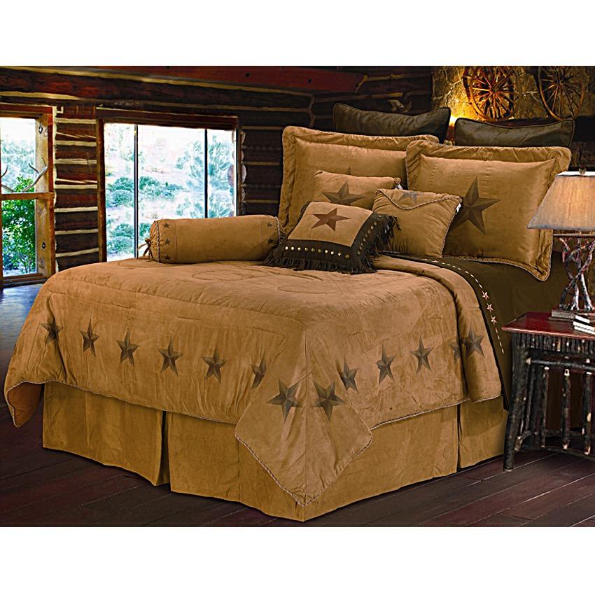 star print western bedding comforter set