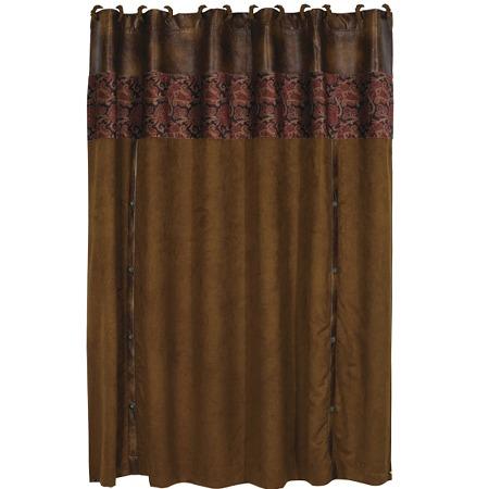 Austin Western Bath Decor Shower Curtain