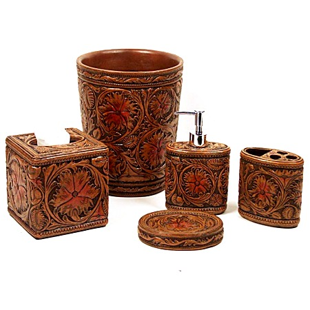 faux tooled western lotion soap
