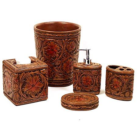 Western bathroom accessories 28 images rustic bath set for Western bathroom decor