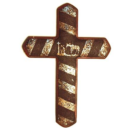 Praying Cowboy Cross