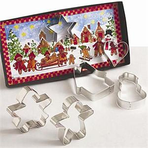 Gingerbread Cookie Cutter Gift Set