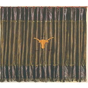 Patched Longhorn Shower Curtain