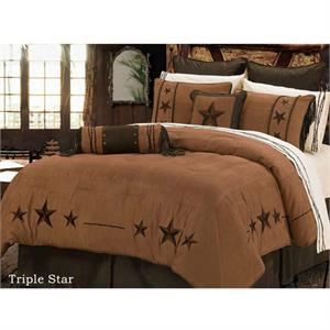 Triple Star Western Bedding Set