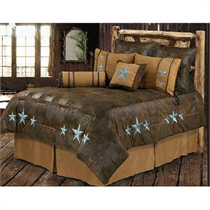 Triple TurquoiseStar Bedding Set