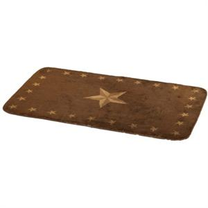 Laredo Star Bath or Kitchen Rug 24 x 36
