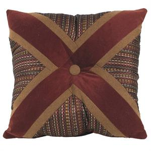 Briarcliff Rustic Bedding X-Design Pillow