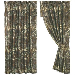 Oak Camo Window Curtain