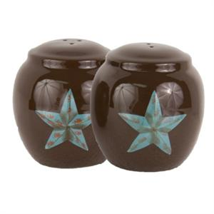 Laredo Star Salt & Pepper Shakers