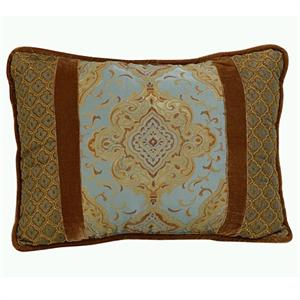 Bianca Medalion Design Throw Pillow