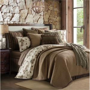 picture of forest pine bedding set
