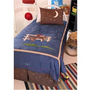 Boys Rodeo Cowboy Bedding Set