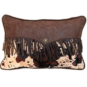 Caldwell Faux Brindle Cowhide Envelope Pillow