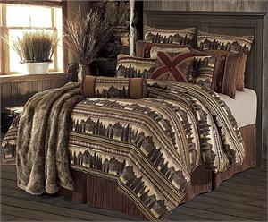 Briarcliff Lodge Cabin Rustic Bedding Set