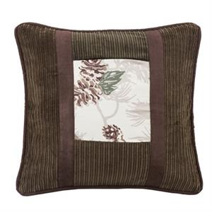 picture of forest pine throw pillow