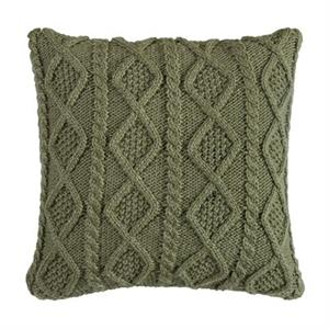 picture of forest pine knit pillow