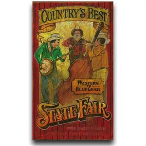 Country's Best Vintage Western Decor Wood Sign 20x32