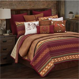 Image Solace Southwestern Printed Quilt Set