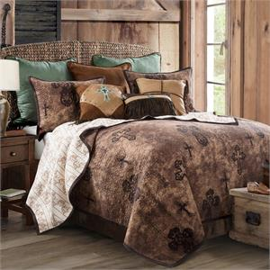 Image of Ironwork western Quilt Set