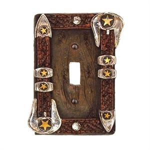 Star Buckle Single Switchplate