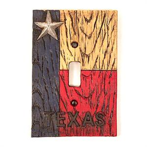 Texas Switchplate Cover Single