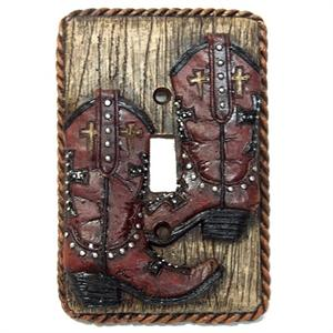 Cowboy Boots Single Switch Wall Plate