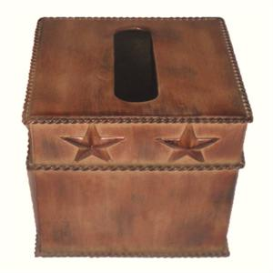 Image of Star Western Styled Rustic Metal Tissue Cover