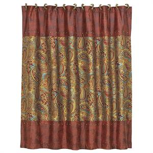 San Angelo Western Shower Curtain