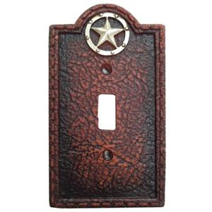 Lone Star Western Style Decorative Electrical Cover Wall Plate