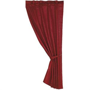 Cheyenne Window Curtain Red
