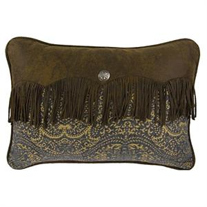 Bella Vista Damask Chenille Envelope Throw Pillow