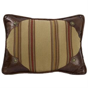 Ruidoso Western Oblong Scallop Pillow