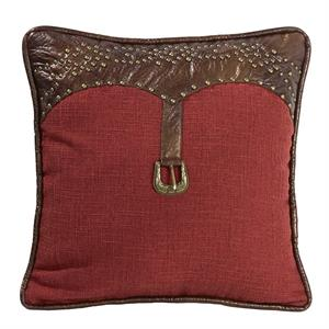 Ruidoso Western Buckle Pillow