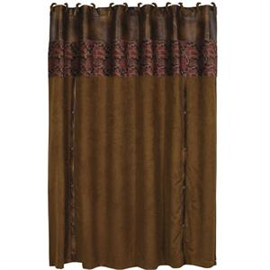 Austin Western Bath Decor Shower Curtain