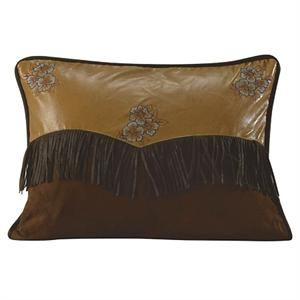Las Cruces Embroidered Flower Envelope Throw Pillow
