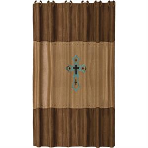 Las Cruces II Southwestern Cross Shower Curtain