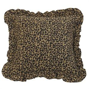San Angelo Leopard Throw Pillow