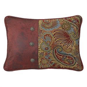 San Angelo Paisley Throw Pillow
