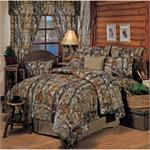 Realtree HD Camo Curtain and Valance Set