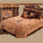 Western Cowgirl Barrel Racer Bedding Set Super King